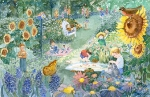 Children's Garden 11x17 ©Joan Justis-All rights reserved