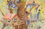 Treehouse 11x17 ©Joan Justis-All rights reserved