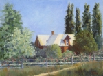 Rockhill Farm 12x16 ©Joan Justis-All rights reserved