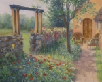 Garden Gate 16x20 ©Joan Justis-All rights reserved