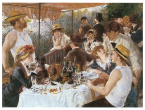 Renoir's painting Luncheon of the Boating Party