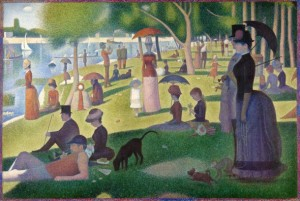 painting of a park