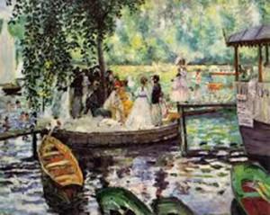 Renoir's painting of La Grenouille Resort