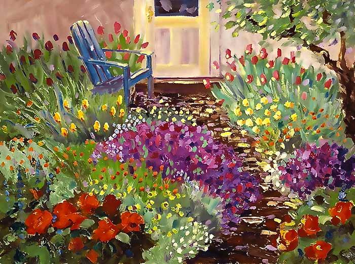 Backdoor-Garden Joan Justis