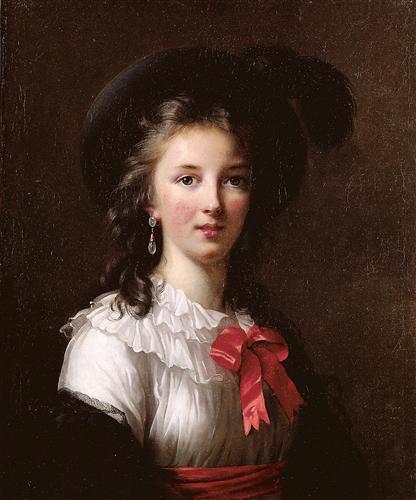 Louise Elisabeth Vigee Le Brun Self Portrait 1781