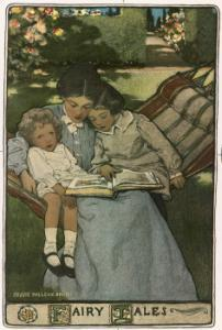 Mother Reading Fairy Tales by Jessie Wilcox Smith
