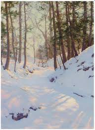 Winter Shadows by Walter Launt Palmer 1854-1932