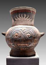 Tialoc vessel from Great Temple Tenochtitian in Mexico
