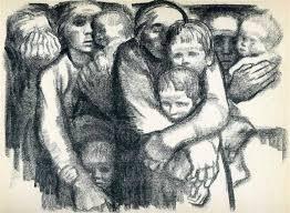 The Mothers 1919 Käthe Kollwitz