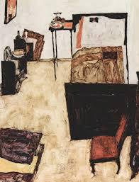 Schiele's Room in Neulenbach 1911, Ego Schiele