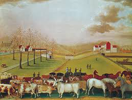 The Cornell Farm 1849, Edward Hicks